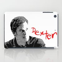 dexter iPad Cases featuring Dexter by Crazy Thoom