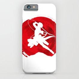 Red Levi akerman iPhone Case