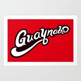 GUAYNABO Art Print