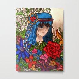 Anime Metal Print