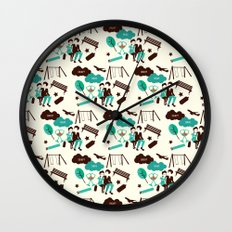 The Fault In Our Stars Pattern Wall Clock