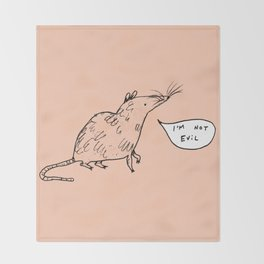 Rats Aren't Evil Throw Blanket