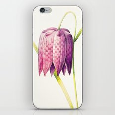 VIII. Vintage Flowers Botanical Print by Pierre-Joseph Redouté - Lilac Tulip iPhone & iPod Skin