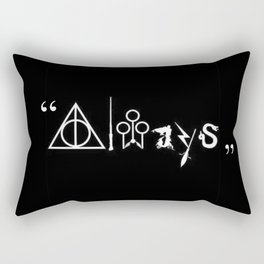 Always and For Ever Rectangular Pillow