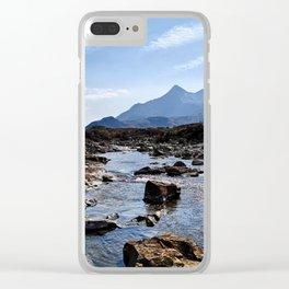 Sligachan Old Bridge Clear iPhone Case