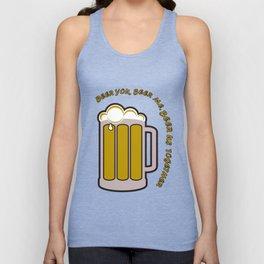 Beer you, beer me Unisex Tank Top