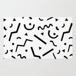 Memphis pattern Rug