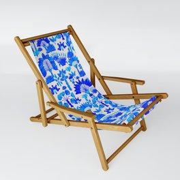 Exotic Garden Blue Sling Chair