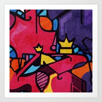 crown Art Prints featuring Crown by Arcturus