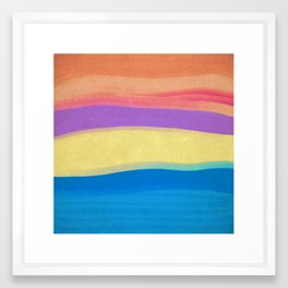 Skies The Limit IV Framed Art Print