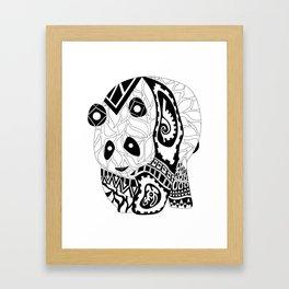 Don Panda Chino Framed Art Print