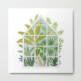 jungle greenhouse Metal Print
