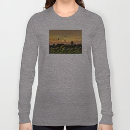 KC-130J Formation Flying into the Sunset Long Sleeve T-shirt