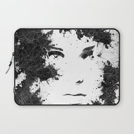 Abstract Black and White Composition Laptop Sleeve