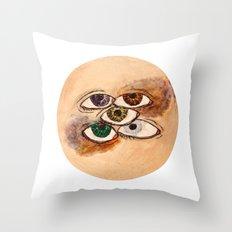 EyesScope Throw Pillow