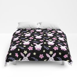 Sakura Bunny Comforters