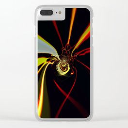 Spider's Web Clear iPhone Case