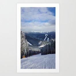 Carpathians View Art Print