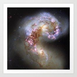 The Antennae Galaxies Art Print
