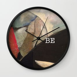 may you be peace. Wall Clock