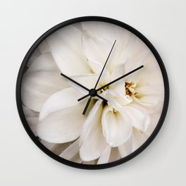 Judi Dench Dahlia Wall Clock