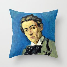 Pablo Picasso - Portrait of Renart - Digital Remastered Edition Throw Pillow