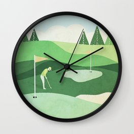 On The Green Two Stokes Under Wall Clock