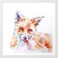 Let me be . . .  Red Fox Art Print