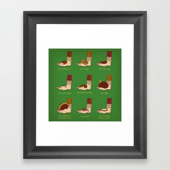 Shire Styles Framed Art Print
