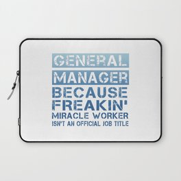 GENERAL MANAGER Laptop Sleeve