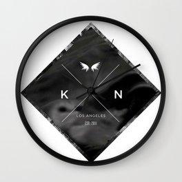 Kuro Noir  Wall Clock