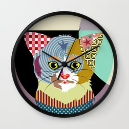 Spectrum Cat Wall Clock