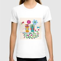 owls T-shirts featuring owls by Marianna Jagoda
