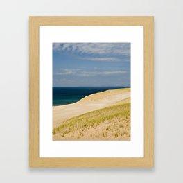 Sand Dune Hillside Framed Art Print