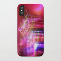 the lights iPhone & iPod Cases featuring Lights by Amy Sia