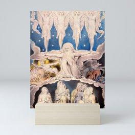 "William Blake ""When the Morning Stars Sang Together"" Mini Art Print"