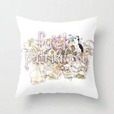 Fuck Patriarchy Throw Pillow