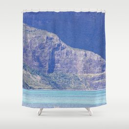 Dreaming of our Island Life Shower Curtain