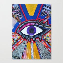 Eye collage Canvas Print