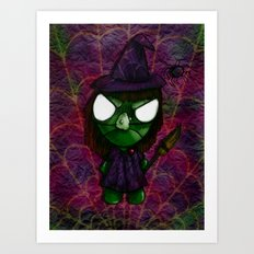 WitchBob Art Print