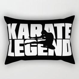 Karate Legend Rectangular Pillow
