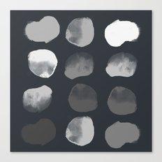 Slate Dots Canvas Print
