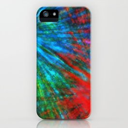 Abstract Big Bangs 001 iPhone Case