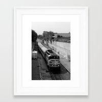 trainspotting Framed Art Prints featuring Trainspotting  by Plecinoga Photography