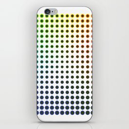 Colour Spots iPhone Skin