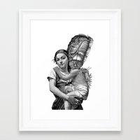 evolution Framed Art Prints featuring Evolution by DIVIDUS