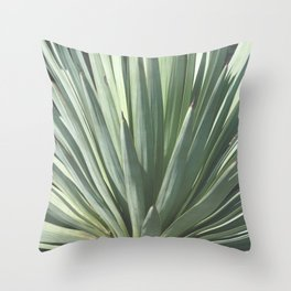Agave Silvestre Throw Pillow