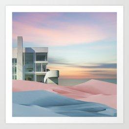 Pastel Minimalism Art Print