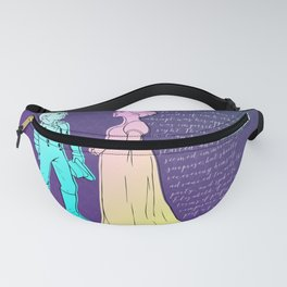 Elizabeth and Darcy Fanny Pack