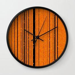disorange Wall Clock